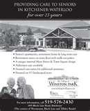 Winston Park Retirement Home Pictures