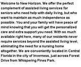Images of Whispering Pines Retirement Home