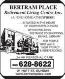 Dundas Retirement Home Pictures