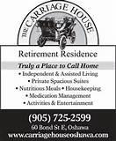 Carriage House Retirement Home Oshawa Images